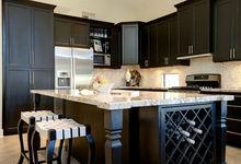 PVC Membrane / Melamine MFC carcase/Customized Kitchen Cabinet