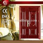 steel wooden armored Steel Wood Door (Polyurethane Foam Core)