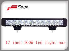 17 inch 100W Cree led light bar Off-road led light bar car accessories 2013