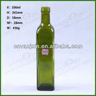 500ml Square Olive Oil Glass Bottle