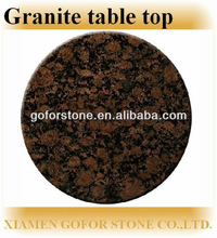 Granite round table tops