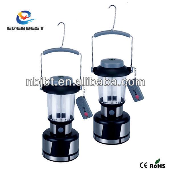 2 x 4W fluorescent lamp rechargeable lantern