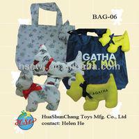 Nylon foldable Sheep shopping bag