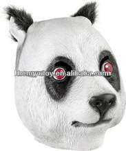 Panda Head Masks Latex Adult One Size fits all Costume mask - NEW FREE 2 DAY SHIP