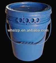 20L plastic bucket with plastic handle/plastic pail 5 gallon