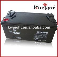 Lead acid solar generator system 12V batteries 200 amp
