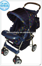 Baby Handcart/Baby Carrier Item 2113 Rear Wheels With Suspension