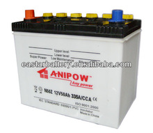 Auto Starting battery ,SLA dry charged Din standard 53522