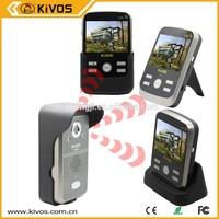 Kivos Intercom system with wireless monitor doorbell camera