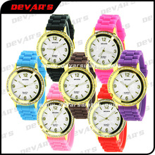 watch H3158L fashion brightness vogue watch price wholesale silicone bling 2012 s shock watch