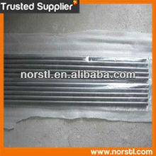 ASTM B348 polished Gr2 forged titanium bar in plastic bag
