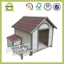 SDD0405 wooden dog house puppy kennel