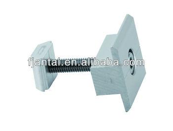 Anodizing aluminum 6005 solar panle mid clamp