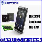 jiayu phone android 4.0 mtk6577 mobile phone jiayu g3