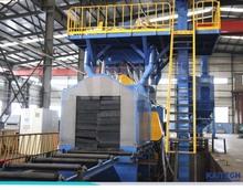 QH69 H section steel shot blasting machine/automatic abrasive blast machine /bead blasting machine