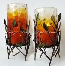 painted glass cylinder candle holder tall glass candle holders cheap candle holders sets lucky home decoration art and craft