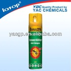 Oil based aerosol pesticide spray 600ML names chemical insecticides