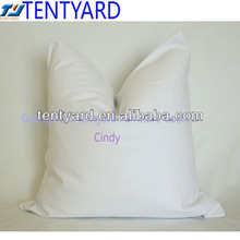 blank outdoor/indoor white cushion cover