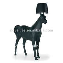 Modern Minimalist Black/White Horse Floor Lamps decor floor lamp from home & hotel gate, supermarket