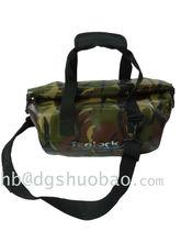 Green military pvc waterproof duffel bag