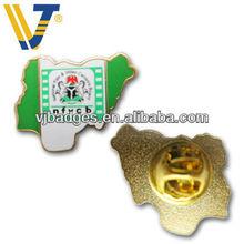 irregular shaped metal souvenir lapel pins with butterfly clip