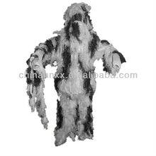 militar de camuflaje ghillie traje de camuflaje de la nieve