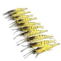 4.5cm fishy smell soft plastic shrimp fishing lure