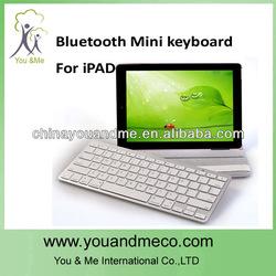 White Bluetooth Wireless Keyboard For ipad mini