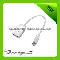 USB OTG cable for Ipad 4/Mini