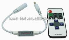 New rf dimmer led/led strip dimmer 12v/led dimmer remote controller