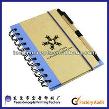 notebook pen holder