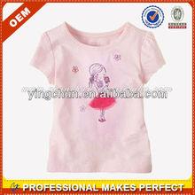 Wholesale comfortable kids tshirt 100 cotton t shirt o-neck t shirt(YCT-B0096)