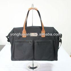 hot sell black PU golf bag travel cover