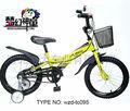 Bicicleta de los niños de las etiquetas