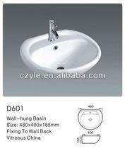 ceramic hair salon wash basins