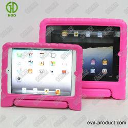 Portable fancy case for ipad 2/EVA foam molding case