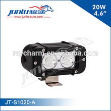 "Outdoor LED flood light bar 9-70V DC 4.6"" high performance 20W LED spot light JT-S1020-A"