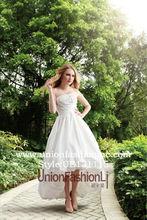 Hot vente Puffy avant court et à Long retour robes de bal mode 2013
