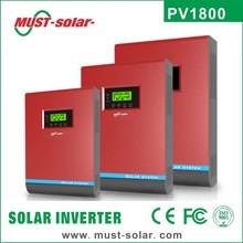 Solar inverter pure sine wave with built in MPPT solar charge controller 12v 220v 1000va