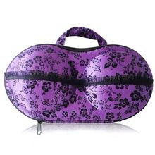 Durable purple eva bra bag