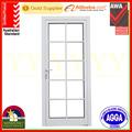 de aluminio de la puerta del dormitorio con el diseño de la parrilla decorativas rejillas as2047 con certificación