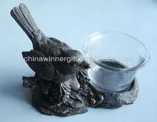 Bird Candle Holder Lucky Home Decor Home Decoration Pieces Decorative Art And Craft WG-B001