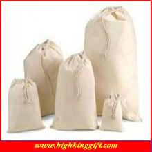 wholesale cotton drawstring underwear bag