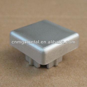 OEM Fabrication Stamping Custom Metal Cap Square Head Cover