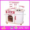 2014 new wooden kitchen toy, popular wooden kitchen, hot sale wooden kitchen toy W10C033