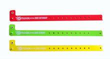 3 style different colours plastic bracelet