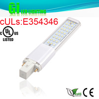 UL CUL CE RoHS approved LED PL light bulb GX23 base with 100-277V Isolated driver
