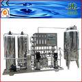 beber agua de la planta de tratamiento