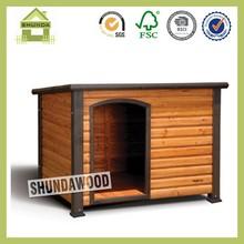 SDD06 Wooden soft dog house