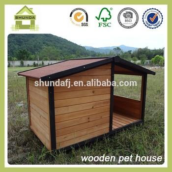 SDD09 wooden waterproof dog kennel